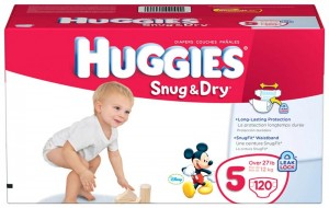 Box of Huggies